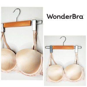 WONDERBRA Lace Nude Push Up Bra